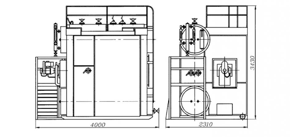 трубная система котла де 10 14 схема
